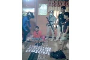 Simpan Ribuan Zenith di Atas Plafon,  Misran Berhasil Ditangkap Polisi Bartim