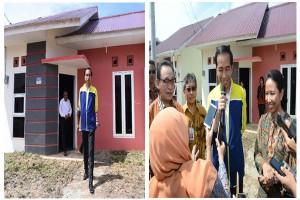 Presiden Jokowi Resmikan Proyek 1 Juta Rumah di Kaltim