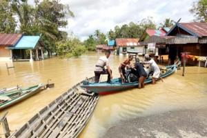Tiga Kabupaten di Kalteng Tanggap Darurat Banjir