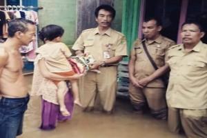 Sip! Pemkab Barito Utara Salurkan Logistik Korban Banjir