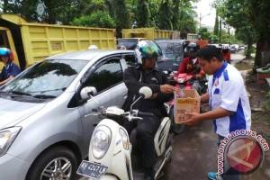 Puluhan Pemuda Kotawaringin Timur Galang Bantuan Banjir