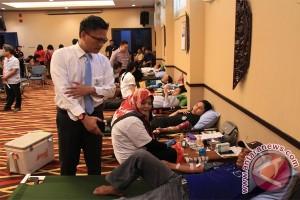 Bi Kalteng Gandeng Perbankan Turut Donor Darah