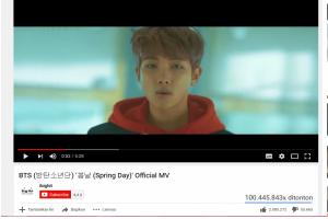 """Lagu BTS """"Spring Day"""" Ditonton Lebih dari 100 Juta Kali di YouTube"""