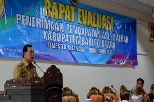 Sekda Jainal Abidin Minta SOPD Barito Utara Optimalkan Penerimaan PAD