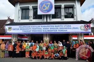 Barito Utara Ikuti Festival Anak Saleh Kalteng
