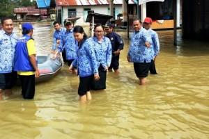 Masyarakat Waspadai Banjir Susulan! Kata Wabup Gunung Mas
