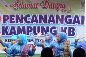 Bupati Seruyan Canangkan 10 Kampung Keluarga Berencana