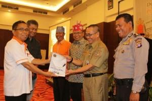 PWI Kalteng Deklarasikan 9 Kesepakatan Pers Sukseskan Pilkada 2018