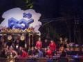 Kelompok Gamelan Siswo Sukro asal London, Inggris menunjukan kebolehanya dalam memainkan gamelan saat acara Festival Kesenian Yogyakarta 29 di Bantul, DI Yogyakarta, Rabu (9/8) malam. Penampilan tersebut menjadi rangkaian tur grup tersebut ke Indonesia hasil program kerja sama KBRI London dan Kemendikbud RI. ANTARA FOTO/Andreas Fitri Atmoko