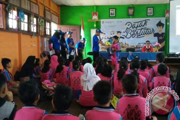 Siswa SD Lamandau di Edukasi Sadar Pajak