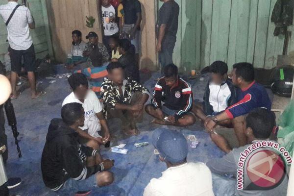 12 Orang Penjudi Ditangkap Polisi Lamandau