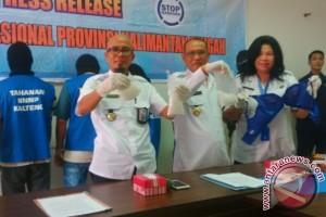 4 Kurir Sabu Ditangkap BNNP Kalteng