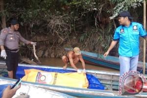 Ditemukan Mayat  Mengapung di Sungai Rungan, Diduga Jasad Tokoh Adat
