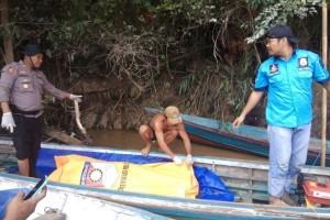 Polisi Pastikan Mayat Terapung di Sungai Rungan Adalah Mantir Adat Gaung Baru