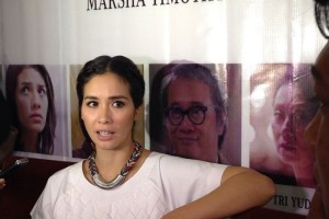 Selamat! Marsha Timothy Menang Sebagai Aktris Terbaik Festival Film di Spanyol