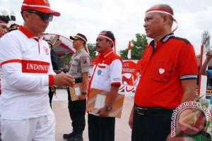 Masyarakat Palangka Raya Ikrarkan Kebangsaan Merah Putih Indonesia