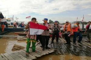 Polair: Kejahatan Perairan Sungai di Kalteng Berkurang