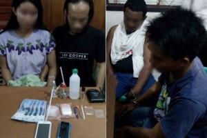 Empat Pengedar Sabu-sabu Ditangkap Polisi Barut