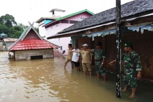 Lagi! Banjir Rendam 4 Desa di Kotim