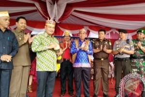 Pembukaan Festival Seni Budaya Lamandau Meriah