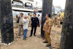 Penyelesaian Pembangunan Jembatan Muara Teweh-Jingah Terkendala Banjir