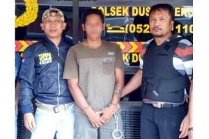 3 Hari Bersembunyi, Pembacok Itu Akhirnya Ditangkap Polisi Bartim