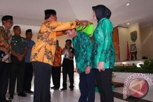 Wakil Wali Kota Lepas Calon Haji Palangka Raya