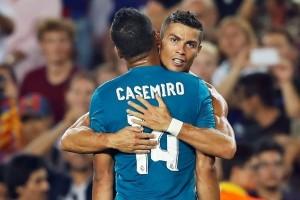 Ronaldo Kartu Merah, Madrid Kalahkan Barcelona