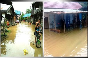 Waspada! Banjir Mulai Ancam Wilayah Gunung Mas