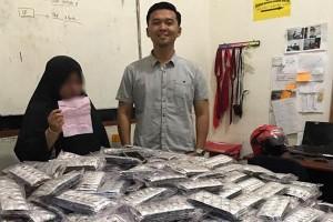 Astaga! Perempuan Pemilik 600 Ribu Butir Zenith Ditangkap Polisi