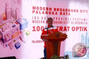 "Palangka Raya Kota Pertama di Indonesia yang Berstatus ""Modern City"""