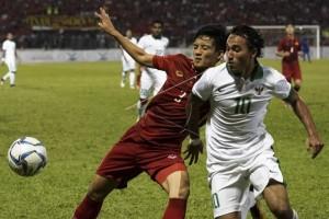 Dengan 10 Pemain, Timnas Indonesia Tahan Imbang Vietnam