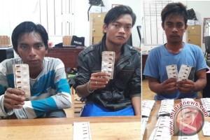 Polisi Palangka Raya Tangkap Tiga Pengedar Zenith