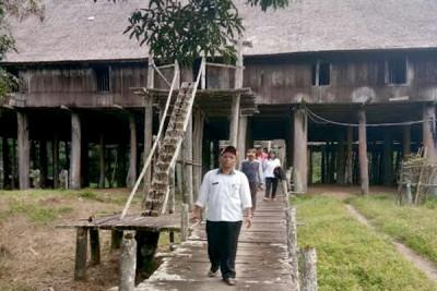 Rumah Betang Tumbang Gagu yang Dibangun pada 1870 Perlu Perbaikan