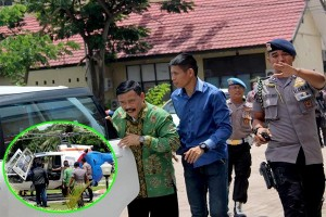 Yansen Binti Dibawa Menggunakan Helikopter Menuju Banjarmasin