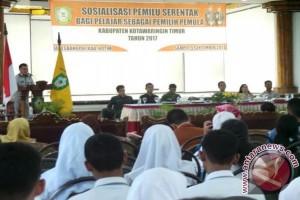 Pemkab Kotim Gelar Sosialisasi Pemilu Untuk Pemilih Pemula