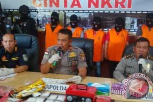 5 Jaringan Narkoba di Palangka Raya Dibongkar Polisi