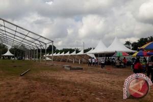 Ini Alasan Panitia Pesparawi Pindahkan Area Lamandau Expo Ke Halaman Kantor Bupati