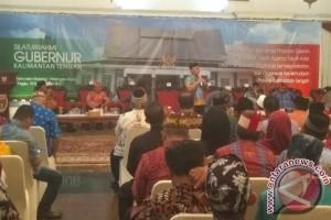 Gubernur Minta DAD Kalteng Bantu Yansen Binti