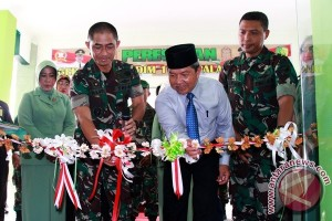 Wali Kota Resmikan Makodim Senilai Rp1,9 Miliar