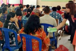 60 Guru Kabupaten Gunung Mas Ikuti Seminar Peningkatan Mutu Dikmen