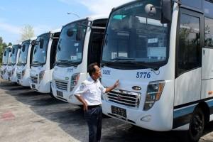 Pemkab Seruyan Terima Bantuan Bus dari Kemenhub untuk Desa Tertinggal