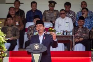 Jokowi Buka Percepatan Sertifikasi Pekerja Konstruksi 2017