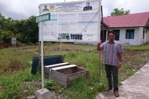 Transparansi, Tumbang Tariak Pasang Baliho Pengelolaan APBDes