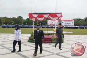 Wagub Kalteng Kritik Pelaksanaan Upacara Peringatan Harhubnas-PMI