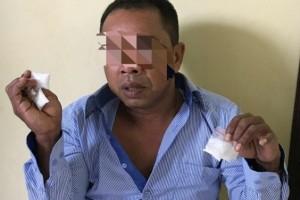 Membawa 5 Paket Sabu, Nur Maly Diringkus Polisi Gumas