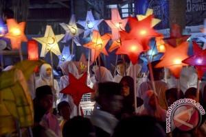 Pawai Lampion Meriahkan Peringatan Tahun Baru Islam di Kotim