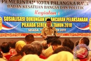 Kesbangpol Sosialisasi Pilkada Serentak 2018