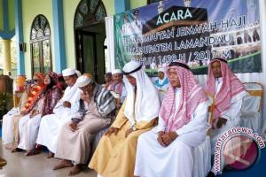 23 Haji Tiba di Lamandau Disambut Wabup Sugiyarto