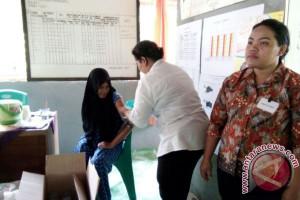 Tim Provinsi Kalteng Langsung Menilai Posyandu Kaharapen